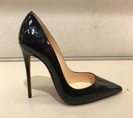 $enCountryForm.capitalKeyWord NZ - Hot 2019 Women Shoes Red Bottoms High Heels Sexy Pointed Toe Red Sole 8cm 10cm 12cm Pumps Come With Logo dust bags Wedding shoes