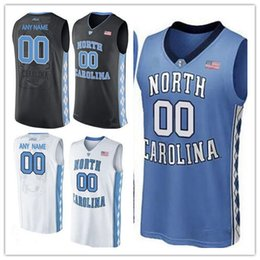 1cd4236b5c14 Custom Mens North Carolina Tar Heels Any Name Any Number NCAA 23 Michael  College Basketball blue black white stitched Jersey S-3XL