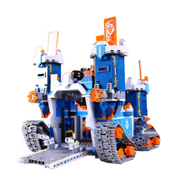 Children Toy Mobile Australia - Lepin 14006 The Future Elements Knights Mechanical Mobile Fortress Building Block Toys Legoed Block 70317 Toys Children Gifts