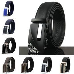 $enCountryForm.capitalKeyWord NZ - Fashions Automatic Buckle Business Belts Luxury Cowhide Waistband Genuine Leather Waist Strap Mens Womens Fashion Leisure Belt