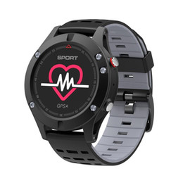 Smart Watch Altimeter Android Australia - NO.1 F5 Smart Watch IP67 Waterproof Heart Rate Monitor GPS Multi-Sport Mode OLED Altimeter Bluetooth Fitness Tracker Android iOS