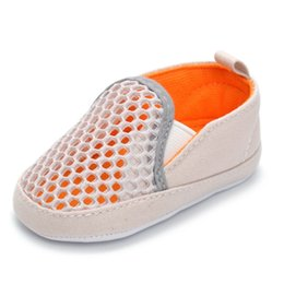 f219fa500b8b 2019 New Brand Baby Shoes First Walkers Toddler Boys Girls Casual Sneakers  Air Mesh Soft Sole Anti-slip Sport Shoes M8Y29 F