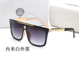 Großhandel 2019 0Versace New Luxury Polarized Sonnenbrillen Herren Driving Shades Herren Sonnenbrille Vintage Driving Classic Sonnenbrille Herren Goggle