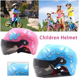 kids motorcycle 2019 - New 3-9 Year Old Children Motorcycle Helmet Sports Cycling Kids Motorcycle Helmet EPS Material For Multi Pattern Anti-Vi