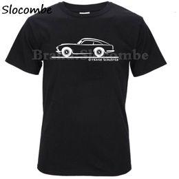 Discount car shirts wholesale - 2018 Latest Style Vintag Car men t shirt Aston Martin DB5 logo t-shirt male top tees