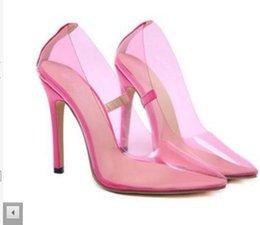 Nuovi sandali con tacco alto a tinta unita color caramello nella primavera del 2019 Night club party dance dress scarpe da lavoro di grandi dimensioni nero rosa