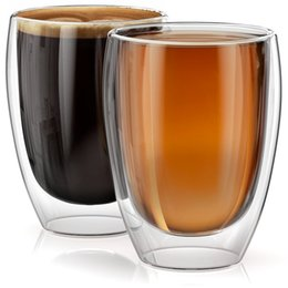 $enCountryForm.capitalKeyWord Australia - Morgiana 2\4\6 Pcs Heat-resistant Double Wall Glass Cup Handmade Creative Beer Mug Tea Mugs Drinkware Beer Coffee Cup Set J190723