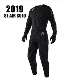 $enCountryForm.capitalKeyWord Australia - 2019 SE AIR SOLO Motorcycle MX GEAR SET Black Moto Clothing hot Moto costume Dirt Bike Motocross Jersey And Pant