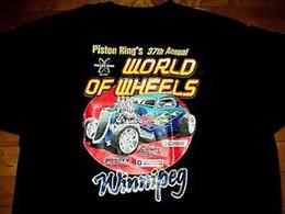 S wheelS online shopping - CAR SHOW World Of Wheels Auto Rama BRAND NEW Logo T Shirt XL Double Sided