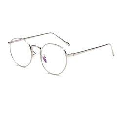 $enCountryForm.capitalKeyWord UK - Classics Round Shape Metal Optical Frame Man Woman Eyewear Super Thin Design Hot Sale Free Shipping Glasses R965
