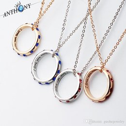 Love Couple Chain Pendant Australia - New pendant necklaces Couple crystal letter necklaces I LOVE YOU MORE ring necklaces free shipping