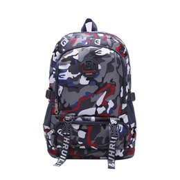 $enCountryForm.capitalKeyWord NZ - Fashion camouflage Backpacks For Teenagers camouflage Travel Backpack Kids School Bags Cool Laptop Bag