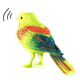 $enCountryForm.capitalKeyWord NZ - Voice Control Music Bird Toy Simulation Cute Sing Song Bird Toy Doll 2018 Funny Electronic Pet Cage Decoration Toys Morning Bird
