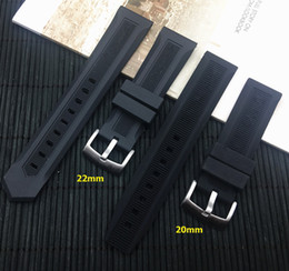 $enCountryForm.capitalKeyWord NZ - Luxury Men Black Watchband 20mm 22mm Silicone Rubber Watch Band Belt For Tag Strap Carrer For Heuer Buckle Drive Timer Y19070902