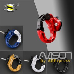 Scooter bagS online shopping - Universal Motorcycle Scooter Bag Bottle Hook Bicycle Helmet Holder Aluminum Alloy Hanger with Screws Luggage Hook Mount
