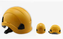 Safety Helmet Hard Hat ABS Construction Protect Helmets High Quality Work Cap Breathable Engineering Power Rescue Helmet free shipping 2019