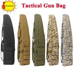 98 CM Tactical Heavy Duty Gun Slip Bevel Bolsa de transporte Airsoft Rifle Estuche Bolsa de caza Caza pistola de tiro # 381444 en venta