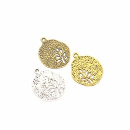 Tree Life Alloy Pendant Australia - 2019 New hot sale Charms Accessories, Circular Life Tree Pendant alloy Pendants, DIY Bracelet Necklace Making Jewelry Accessories