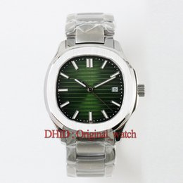 Stainless Steel Unisex Luxury Watches Australia - Sport luxury mens watches green dial Cal.324SC automatic mechanical wristwatch sapphire 316L stainless steel case bracelet Men's Watches