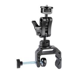 "$enCountryForm.capitalKeyWord Australia - CAMVATE Universal C Clamp Desk Mount & Ball Head Extension Arm Double-ended 1 4""-20 Screw Adapter C2097"