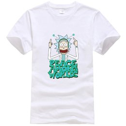 15975ca3df4 Moisture wicking t shirts wholesale online shopping - hot quality cotton  short sleeve men rick and