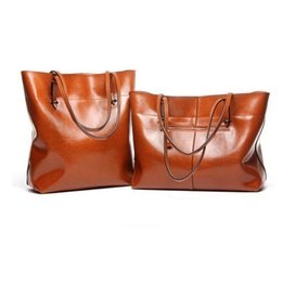 $enCountryForm.capitalKeyWord UK - Dusa2019 Woman Single Shoulder Layer Cowhide Shopping Bag Portable Genuine Leather Package Simple Practical Ma'am Bale