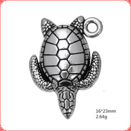 $enCountryForm.capitalKeyWord Australia - 30pcs Antique vintage tibetan silver sea turtle turtoise charms metal dangle alloy pendants for necklace bracelet earring diy jewelry making