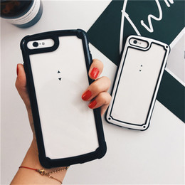 Korea Wholesale Cell Phones Australia - Korea Transparent Cell Phone Case for Samsung Galaxy S8 S9 Plus Note 9 8 for Huawei P20 Pro Lite MATE 20 LITE Protective Clear Full Cover