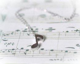 $enCountryForm.capitalKeyWord Australia - Fashion Wholesale Necklace Top Quality Women Man cut Deft Design Music Symbol Ash Jewelry Necklaces Pendants jl-136