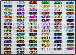 Evening Nails Australia - (Metallic Colors) Round Cup Loose Sequin Paillettes for Evening Dress,Costume,Nail Art (Contact Us For More Color)