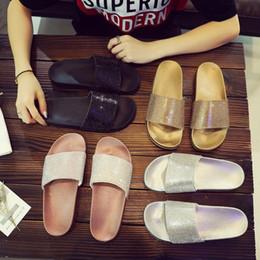 5163c66125 Silver Bling Flat Sandals Online Shopping | Silver Bling Flat ...
