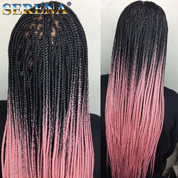 $enCountryForm.capitalKeyWord Australia - Ombre Two Colors Synthetic Xpression Braiding Hair 24inches 100g pack Jumbo Braids Kanekalon Xpression Braiding Hair Crochet Braids Hair