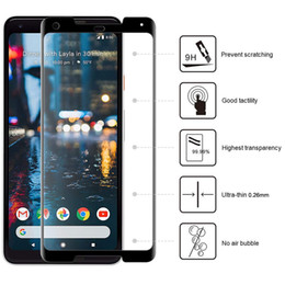 $enCountryForm.capitalKeyWord Australia - For Google Pixel 2 3 XL Lite Alcatel 1X Evolve Tetra 5 7 A30 9H Hardness Silk Screen Protector Anti Scratch Tempered Glass