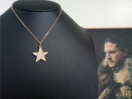 $enCountryForm.capitalKeyWord NZ - cecmic fashion gold plate star crystl jewelry handmade women luxury pendant neckalce jewelry from china supplier