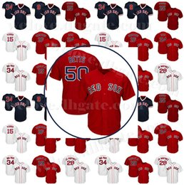 Мужчины Бостон 50 Mookie Betts Red Sox 19 Джеки Брэд 28 Мартинес ДжейДи 9 Тед Уильямс 15 Дастин Педройа 16 Эндрю Бенинтенди
