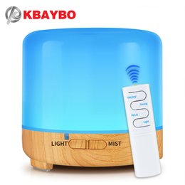 usb air cooler Australia - 200ml USB Electric Aroma air diffuser Ultrasonic Cool Air Humidifier with 7 Soothing Color LED Changing Light for Home kbaybo