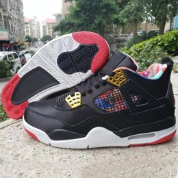 Discount shoes good year - 2019 New Arrival Jumpman 4 IV CNY Men's Basketball Shoes for Good quality 4s Chinese New Year Sports Sneakers Desig