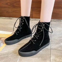 $enCountryForm.capitalKeyWord NZ - Comfortable Lady Short Boot Dress Shoes Sexy Women High Heels Suede Festival Party Wedding Shoes Slim Formal Pumps Ankle Boots