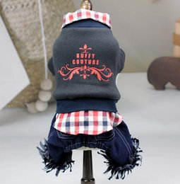 male hair products NZ - Designer dog clothes new pet products wholesale cotton jacket in autumn and winter 100208
