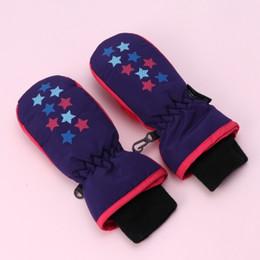 Kid S Gloves Australia - yang1919 Baby Winter Waterproof Mittens Boy Girl Kids Children Thickening Warm Ski Gloves