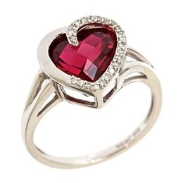 $enCountryForm.capitalKeyWord Australia - wholesale manufacturer cheap rings men fashion lover gift mix festival designer jewelry steel sterling silver red cone