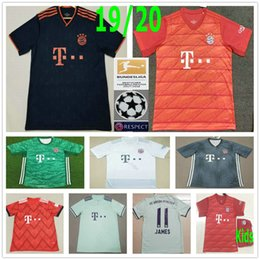Youth soccer jerseYs shirt online shopping - 2019 Bayern Munich Soccer Jerseys COUTINHO LEWANDOWSKI MULLER KIMMICH PERISIC Custom men women kids youth football shirt