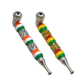 $enCountryForm.capitalKeyWord UK - 2019 New Type of Metal Pipe with Multi-colour Ball Straight Pole, Slim Nozzle and Cap