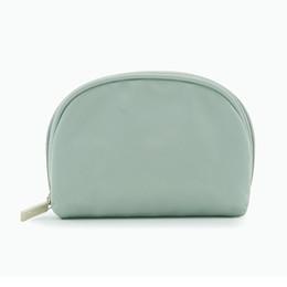 Green Cosmetic Bag Wholesale Australia - Multifunction Fresh Solid Makeup Organizer zipper Travel Bag Women Cosmetic Bags Box Ladies Handbag Nylon Girl Bags Wash Bag