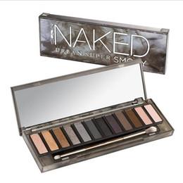 $enCountryForm.capitalKeyWord Australia - HOT!!!12 Color Shimmer Glitter Eye Shadow Powder Matt Eyeshadow blush palette Cosmetic Makeup brochas maquillaje with brush
