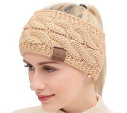 CroChet hats spring summer online shopping - 21 Colors Knitted Crochet Headband Women Winter Sports Headwrap Hairband Turban Head Band Ear Warmer Beanie Cap Headbands