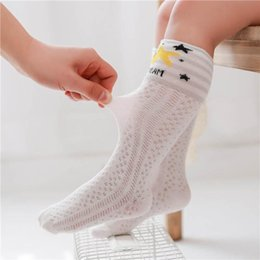 knee high boys toddler socks NZ - 0-3year Cartoon Baby Socks Toddler Socks Baby Girls Cotton Sock Casual kids Knit Knee High Socks boys Best Sock baby girl clothes