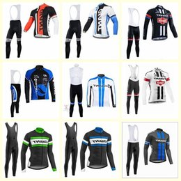 Giant lonG sleeve cyclinG jersey online shopping - Giant Team Cycling Jersey d Gel Pad Long Sleeves Bib Pants Sets Pro Cycling Clothing Bicycle Maillot Suit E1419