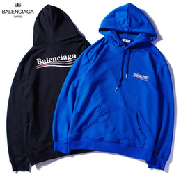 Fighting Australia - F6 BALENCIAGA YSL brand hoodies long sleeves fight color kanye west Men's Hoodies men and women loose couple sweater