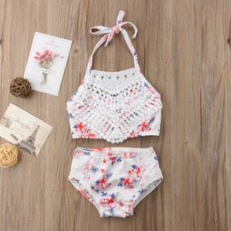 $enCountryForm.capitalKeyWord NZ - UK Toddler Kids Baby Girls Bikini Suit Swimwear Swimsuit Bathing Suit Beachwear Swimming For Baby Girls